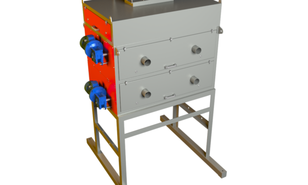 Комплекс магнитной сепарации 3-х стадийный