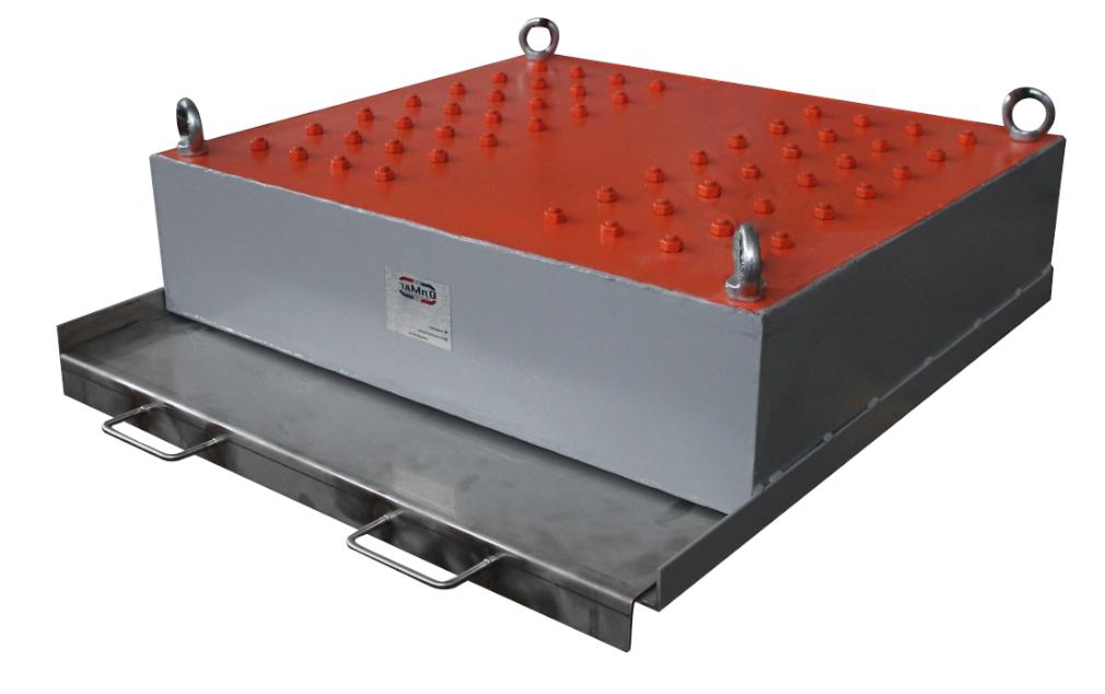 Магнитный сепаратор подвесной с механической очисткой – шибером (СМПР)