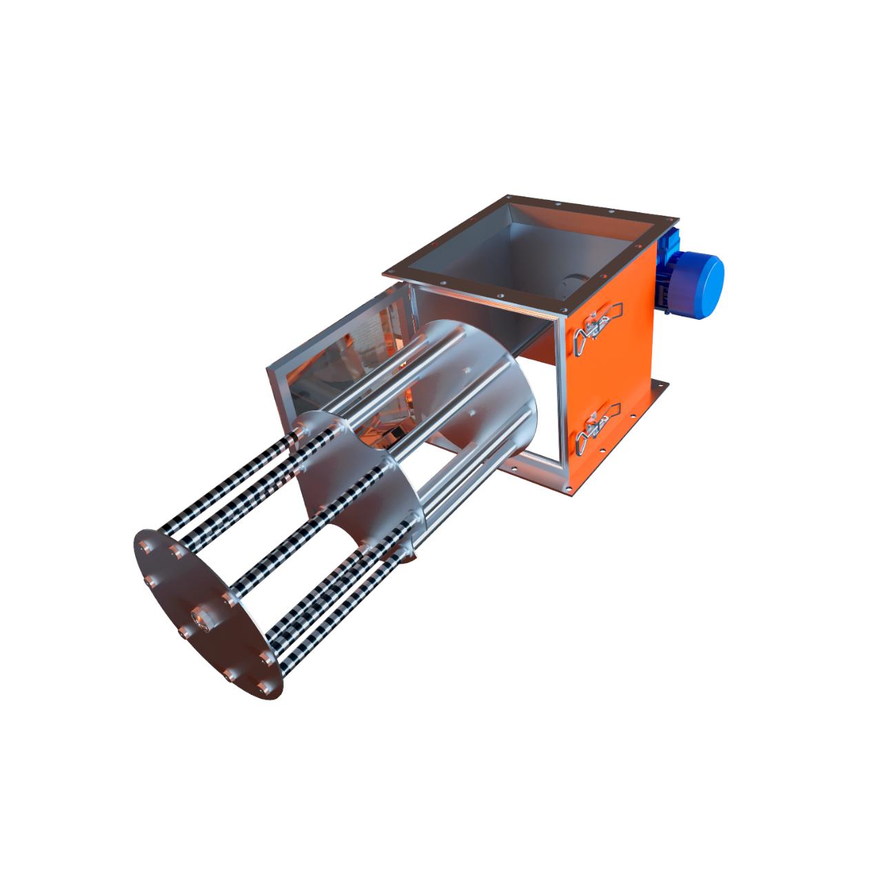 Магнитный сепаратор с вращающейся стержневой системой (ССМВ)